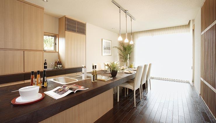 住友林業のキッチン