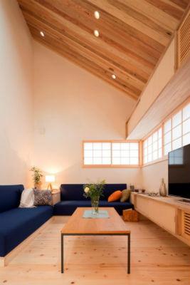 藍舎のモデルハウス内装2