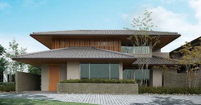 伝統的なデザインと機能性を合わせた和テイストの家(住友林業)