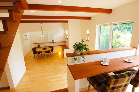 木のすまい工房_カフェ風の家2