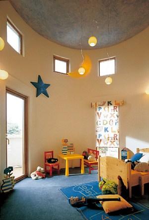 絵本のように幻想的な子ども部屋(三井ホーム)
