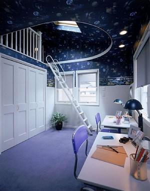 三井ホームの物件、子ども部屋2