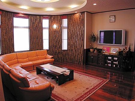 髙石工務店の施工例4_自宅にいながら特別感あふれる暮らし